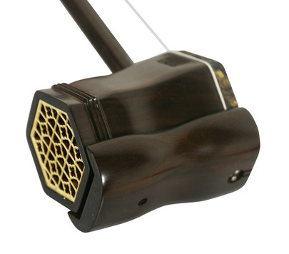 Professional Shell Carved Sandalwood Erhu Instrument Chinese Violin With Accessories