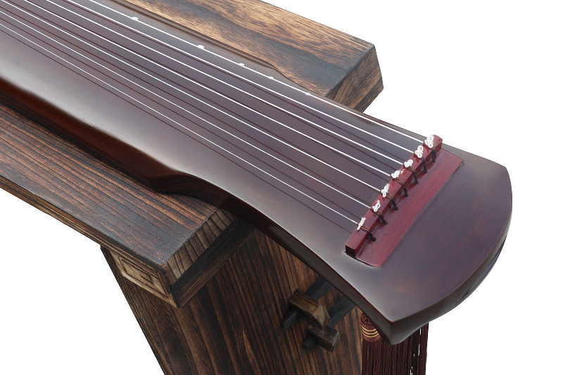 Exquisite Paulownia Wood Guqin Zither Chinese 7 String Instrument Fu Xi Style