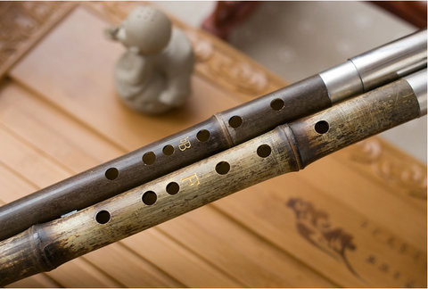 Buy Exquisite Chinese Bamboo Flute Bawu Free Reed Instrument ...