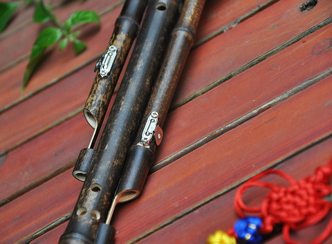Performance Level Chinese Free Reed Gourd & Bamboo Flute Hulusi Instrument