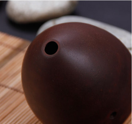 Quality Chinese Pottery Clay Flute Ancient Xun Instrument Pear Shaped Ocarina