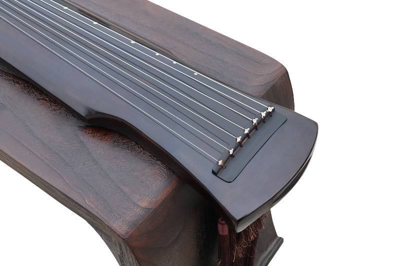 Concert Grade Aged Fir Wood Guqin Chinese 7 Stringed Zither Fu Xi Style