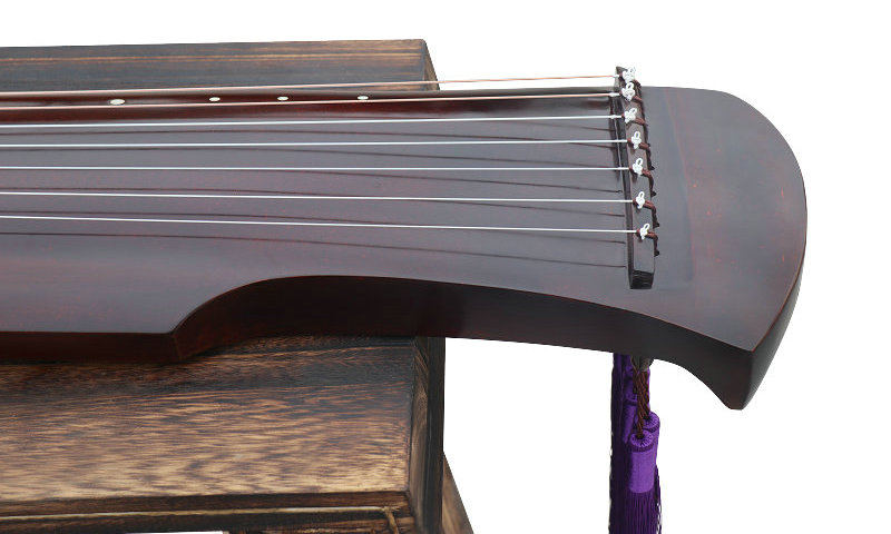Exquisite Chinese 7 String Instrument Aged Fir Guqin Zither Gu Qin Fu Xi Style