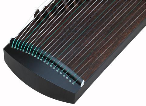 Exquisite Travel Size Black Sandalwood Guzheng Instrument Chinese Zither