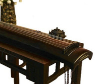 Kaufen Acheter Achat Kopen Buy Professional Aged Fir Wood Guqin Instrument Chinese 7 String Zither Zheng He Type