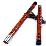 Kaufen Acheter Achat Kopen Buy Professional Level Chinese Bitter Bamboo Flute Dizi Instrument with Accessories