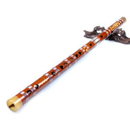 Kaufen Acheter Achat Kopen Buy Concert Grade Chinese Bitter Bamboo Flute Dizi Instrument with Accessories 2 Sections