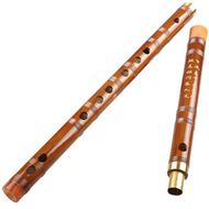 Kaufen Acheter Achat Kopen Buy Study Level Chinese Bitter Bamboo Flute Dizi Instrument with Accessories