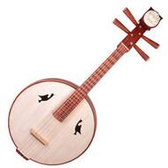 Concert Grade Rosewood Zhongruan Instrument Chinese Moon Guitar Ruan