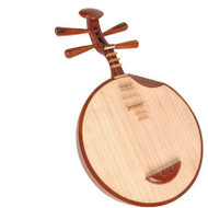 Kaufen Acheter Achat Kopen Buy Professional Level Rosewood Yueqin Chinese Moon Guitar with Case