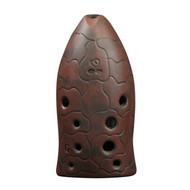 Professional Xun Flute Chinese Ancient Musical Instrument Fish Pattern Ocarina 10 Holes
