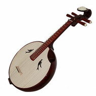 Kaufen Acheter Achat Kopen Buy Professional Sandalwood Zhongruan Instrument Chinese Moon Guitar Ruan