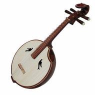 Buy Premium Quality Aged Sandalwood Zhongruan Instrument Chinese Moon Guitar