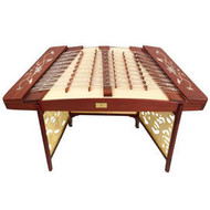 Buy Concert Grade Rosewood Yangqin Instrument Chinese Hammered Dulcimer with Accessories