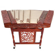 Buy Professional Carved Rosewood Yangqin Instrument Chinese Hammered Dulcimer with Accessories