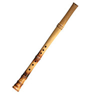 Buy Professional Beech Wood Flute Xiao Instrument Chinese Shakuhachi Short Type 2 Sections