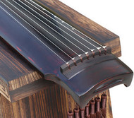 Buy Professional Aged Fir Wood Guqin Instrument Chinese 7 String Zither Sheng Nong Style