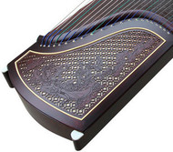 Buy Professional Level Purple Sandalwood Guzheng Instrument Chinese Harp