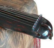 Buy Premium Quality Aged Fir Wood Guqin Instrument Chinese 7 String Zither Banana Leaf Type