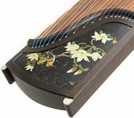 Buy Professional Level Carved Wenge Wood Guzheng Instrument Chinese Koto
