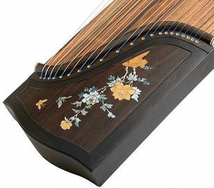 Buy Concert Grade Black Sandalwood Guzheng Instrument Chinese Zither Harp