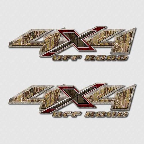 4x4 Swamp Grass Shadow X Truck Decals