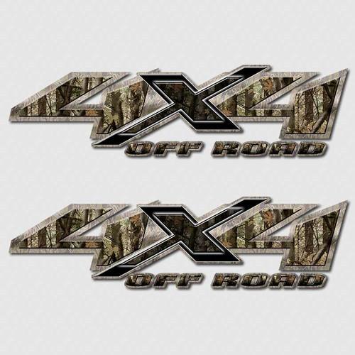 4x4 Shocker Camouflage Shadow X Truck Decals