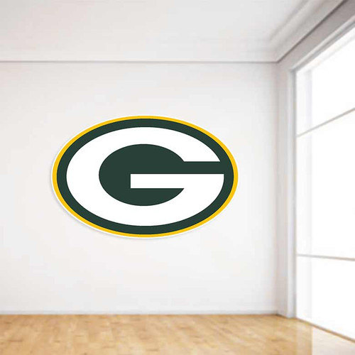 Green Bay Packers Football Wall Decal