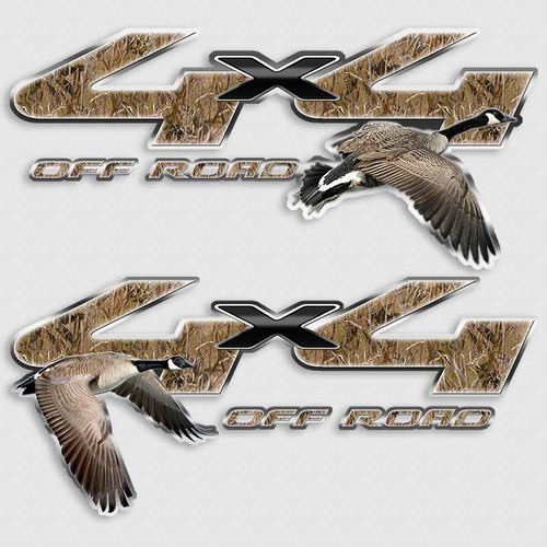F-250 4x4 Goose Camouflage Ford Truck Decals