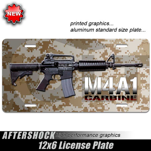 Carbine M4A1 Digital Camo Plate