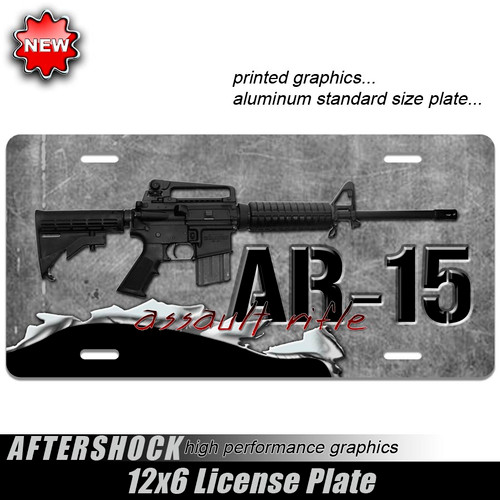 AR-15 Assault Rifle Plate
