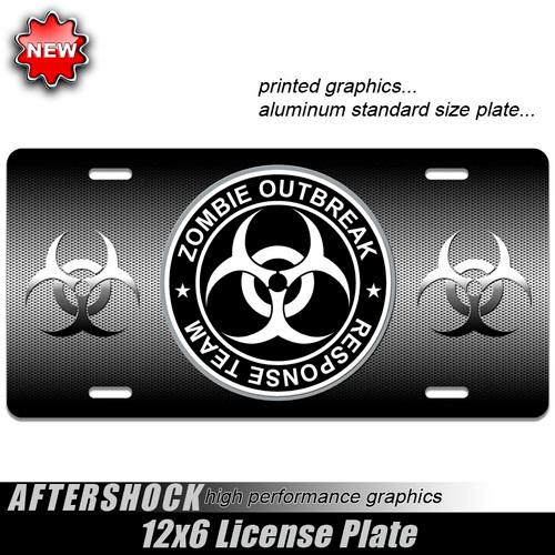 Zombie Outbreak Plate