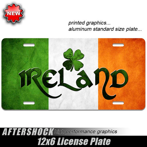Ireland Celtic Flag Plate