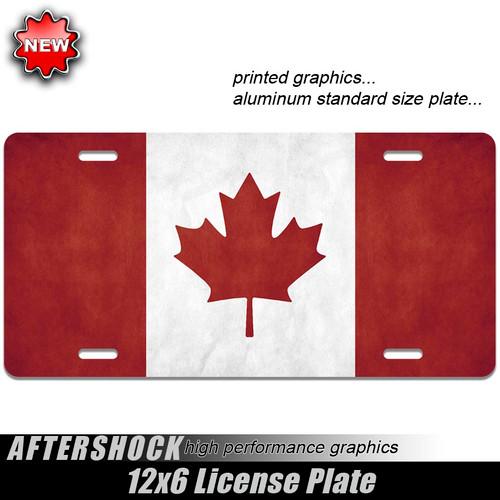 Canada Leaf Flag Plate