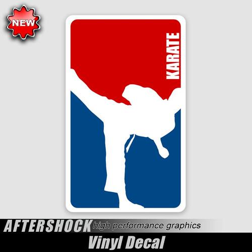 Karate Logo Sticker