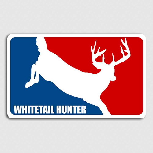 Major League Whitetail Deer Decal