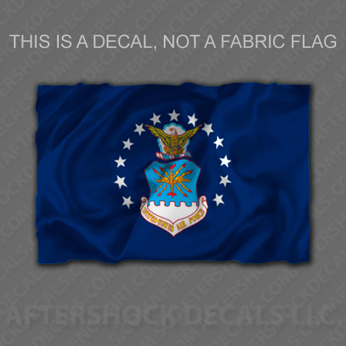 Air Force Flag Sticker