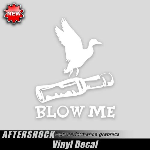 Blow Me Flight Sticker