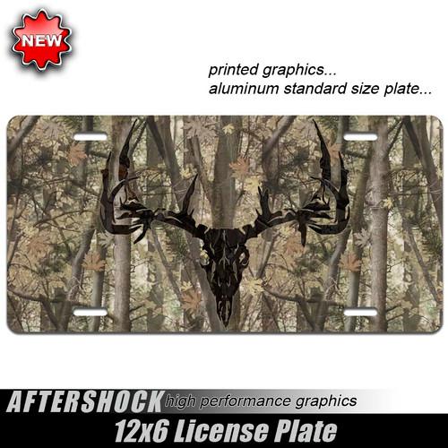 Deer Skull Camo Archery Plate