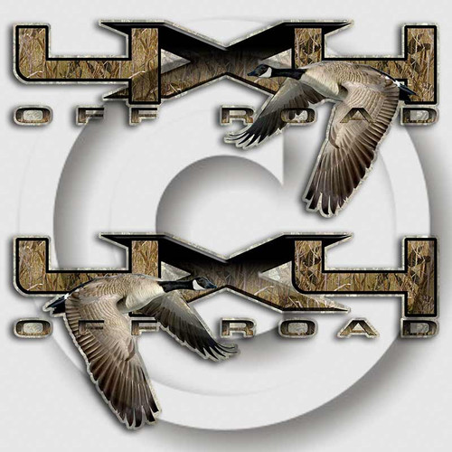 F-150 Goose Hunting Ford Truck Decals