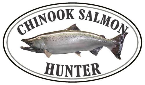Chinook Salmon Fish Hunter Sticker
