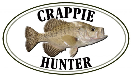 Crappie Fish Hunter Sticker