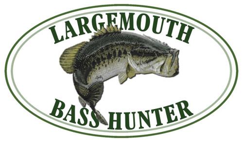 Largemouth Bass Hunter Sticker