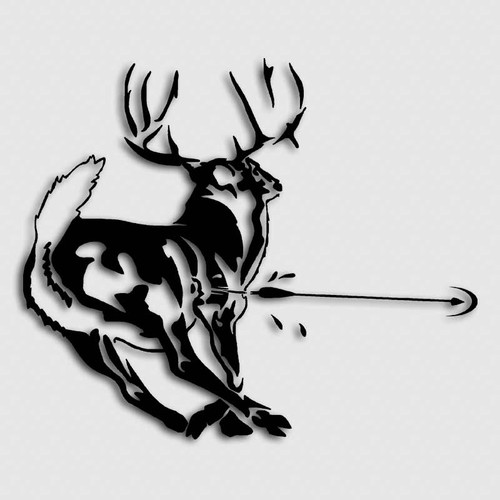 Archery Killzone Deer Decal