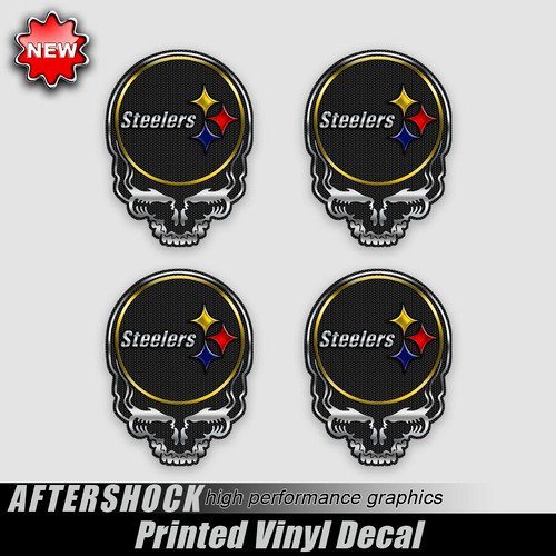 Steelers Dead Skull Decal