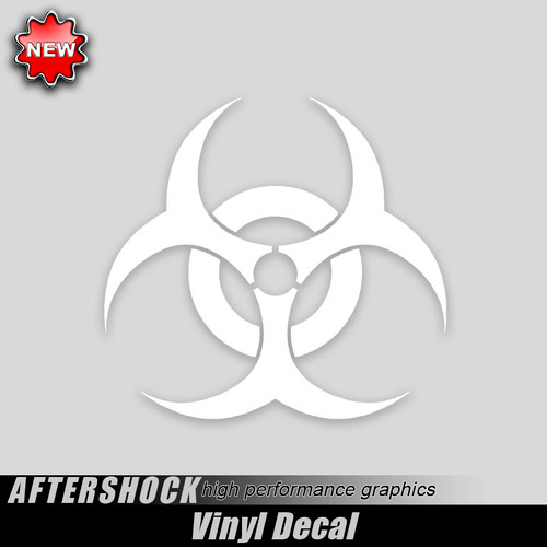 Biohazard Toxic Waste Decal