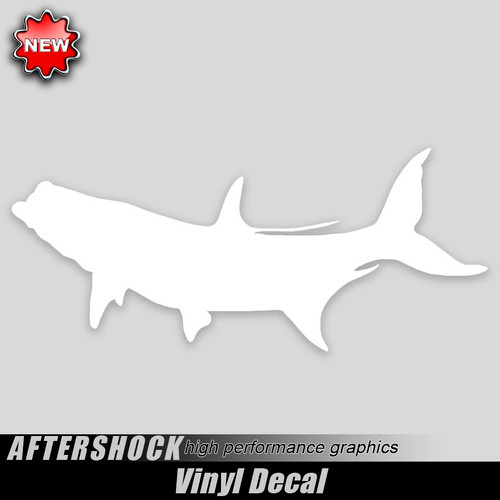 Tarpon Fishing Decal