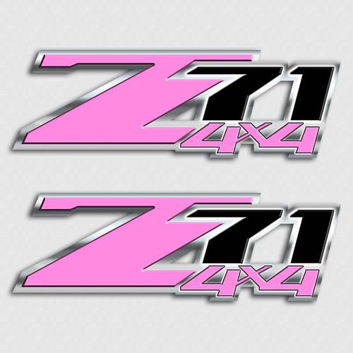 Playboy Pink Z71 4x4 Sticker Set