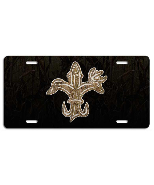 Louisiana Sportsman Camo Plate