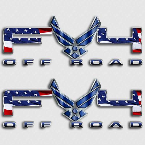 FX4 Air Force Sticker set